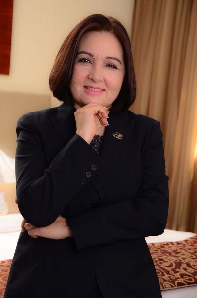 Dináurea Cheffins, vice-presidente de Recursos Humanos da Atlantica Hotels (foto: divulgação/Voice Comunicação)