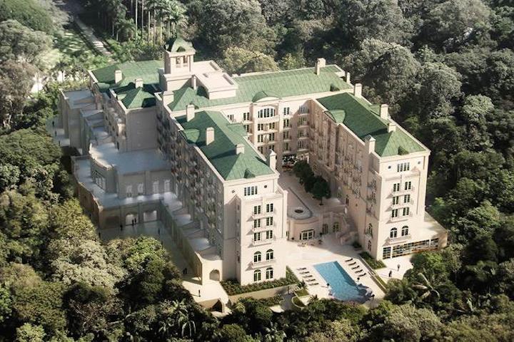 Palácio Tangará fechamento