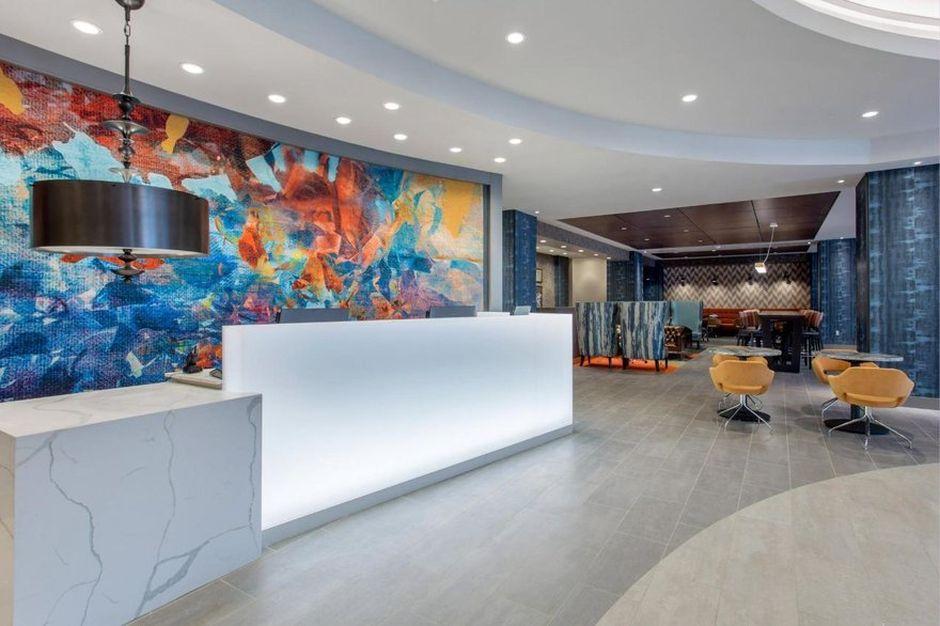 Cambria Hotels - lobby Filadélfia