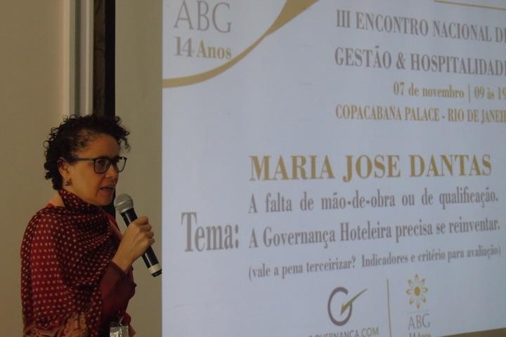 Dia do Hoteleiro - Maria José Dantas