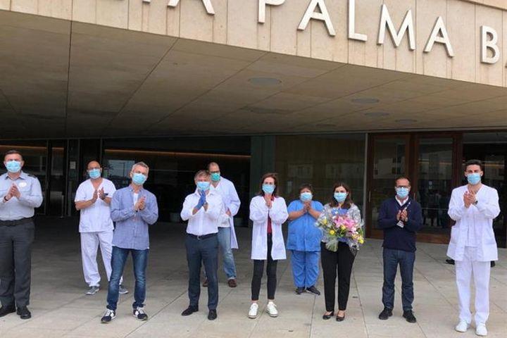 Meliá - hotel convertido em hospital_despedida