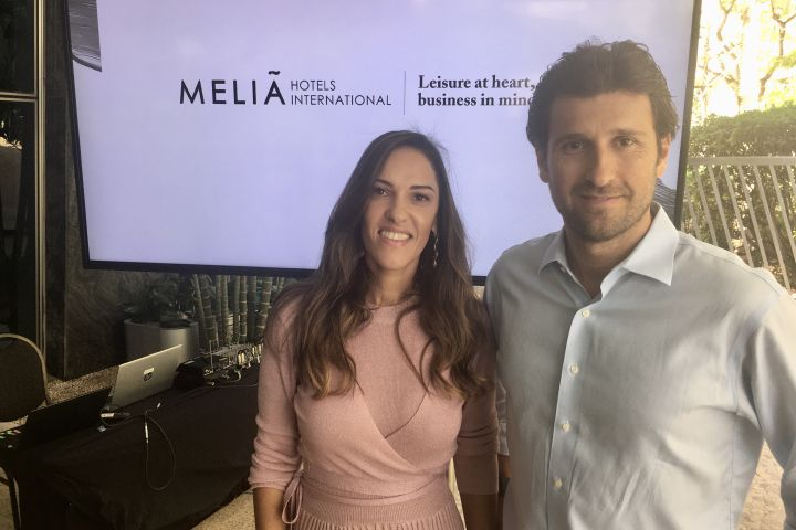 Meliá Hotels International - Ellizabeth Santos e Fernando Gagliardi
