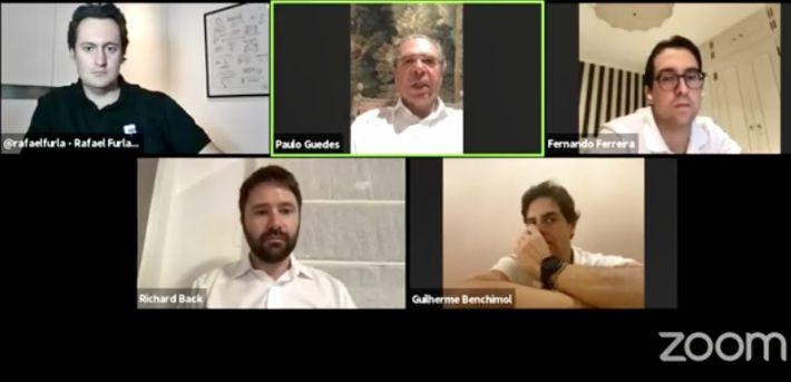 Paulo Guedes - conversa XP_imagem live