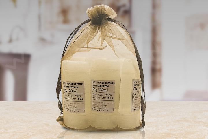Realgems - kits de álcool gel