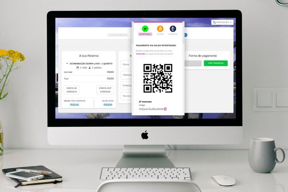 selfHotel - motor de reserva criptomoeda