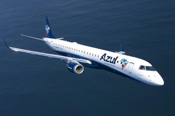 Azul- retomada de voos