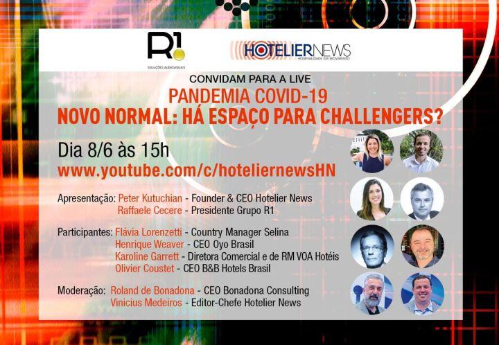 live- challengers da hotelaria