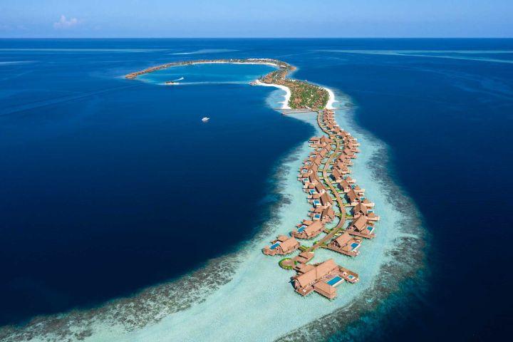 Travel + Leisure - top 100 list_Waldorf Astoria Maldivas