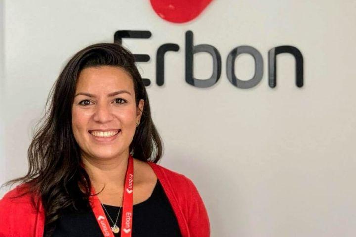 Bruna Livramento - contratada pela Erbon