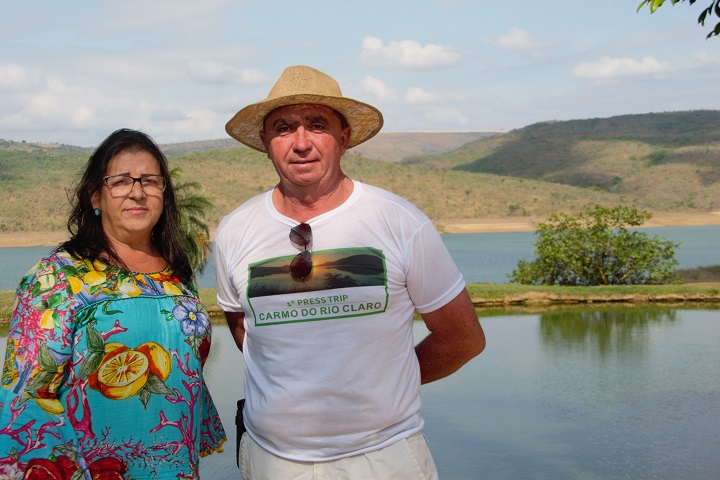 Carmo do Rio claro - desenvolvimento do turismo - marly e tiao