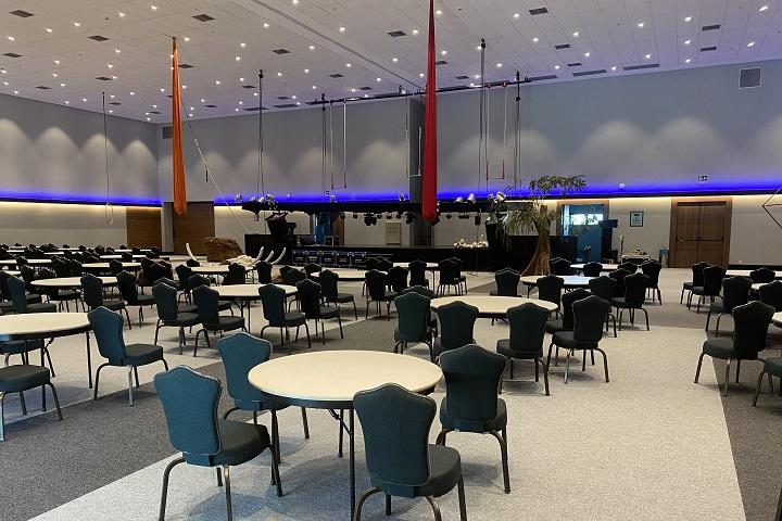 malai manso - centro de convenções - interna